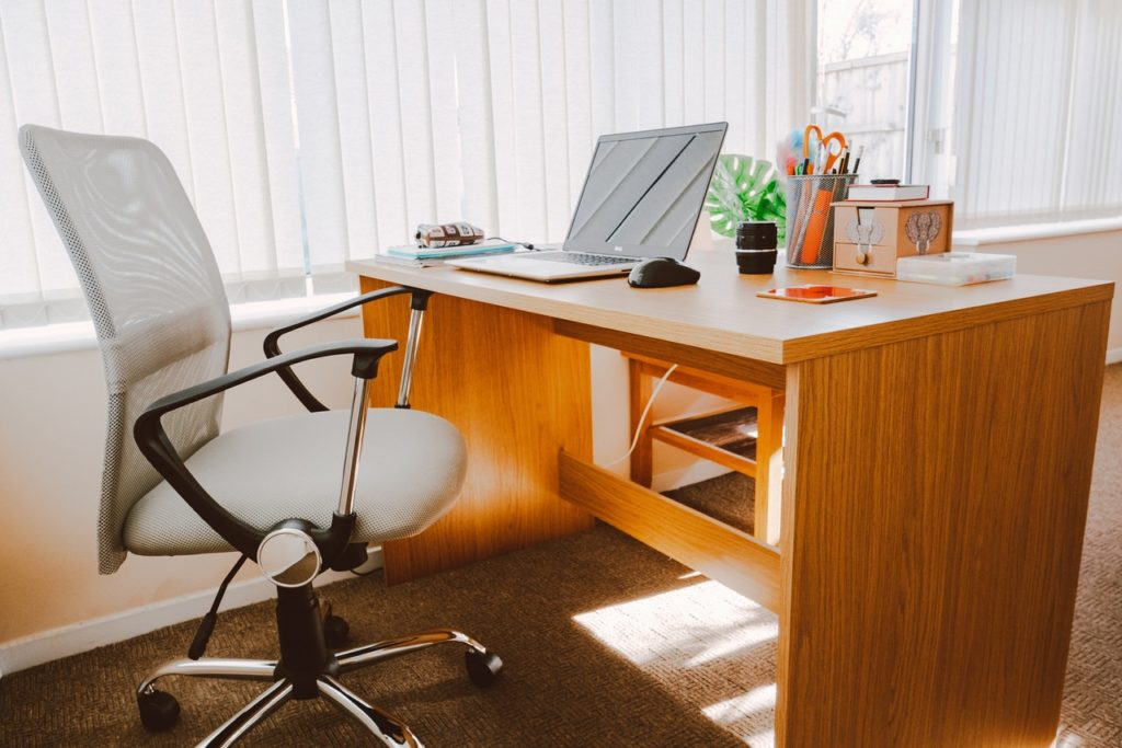 furnished desks